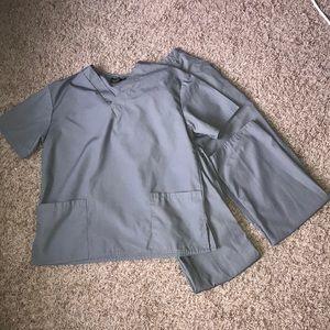 Grey scrubs